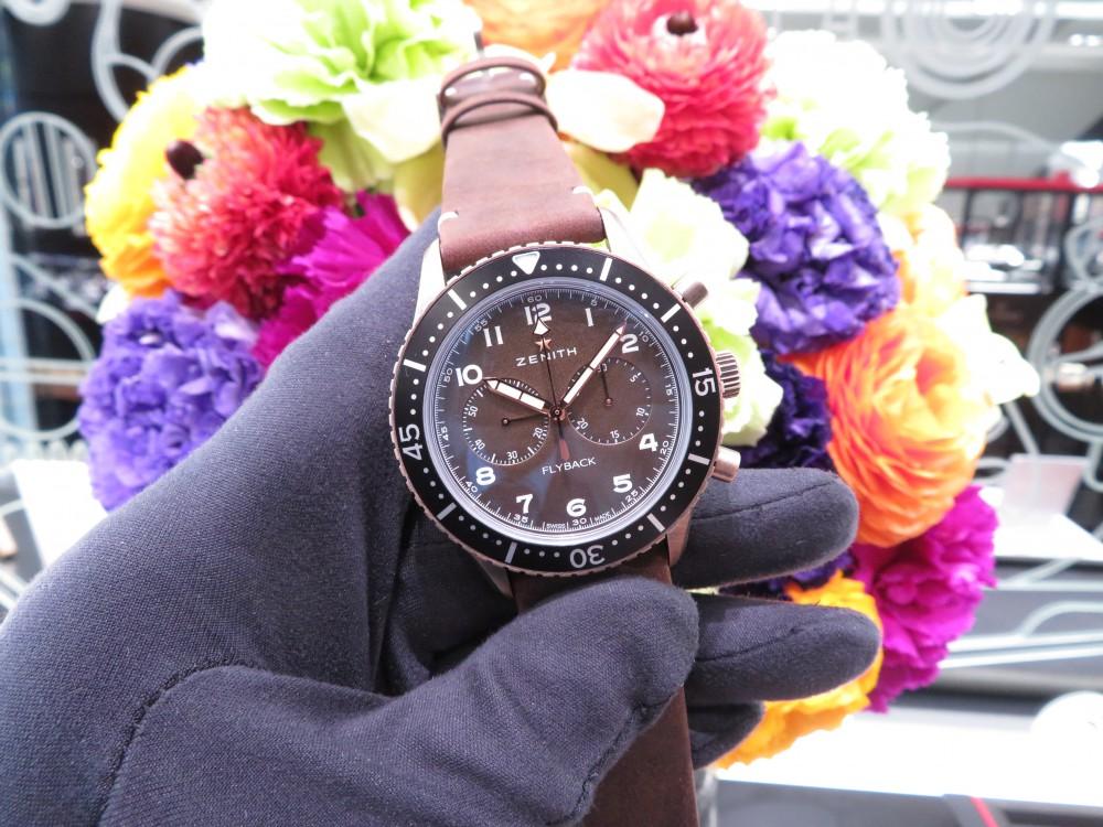 IMG_4942 ゼニスブティック大阪にパイロット クロノメトロ TIPO CP-2 フライバック ブロンズモデル入荷致しました。 - PILOT
