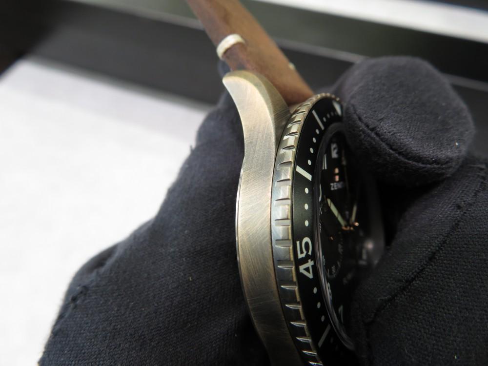 IMG_4944 ゼニスブティック大阪にパイロット クロノメトロ TIPO CP-2 フライバック ブロンズモデル入荷致しました。 - PILOT