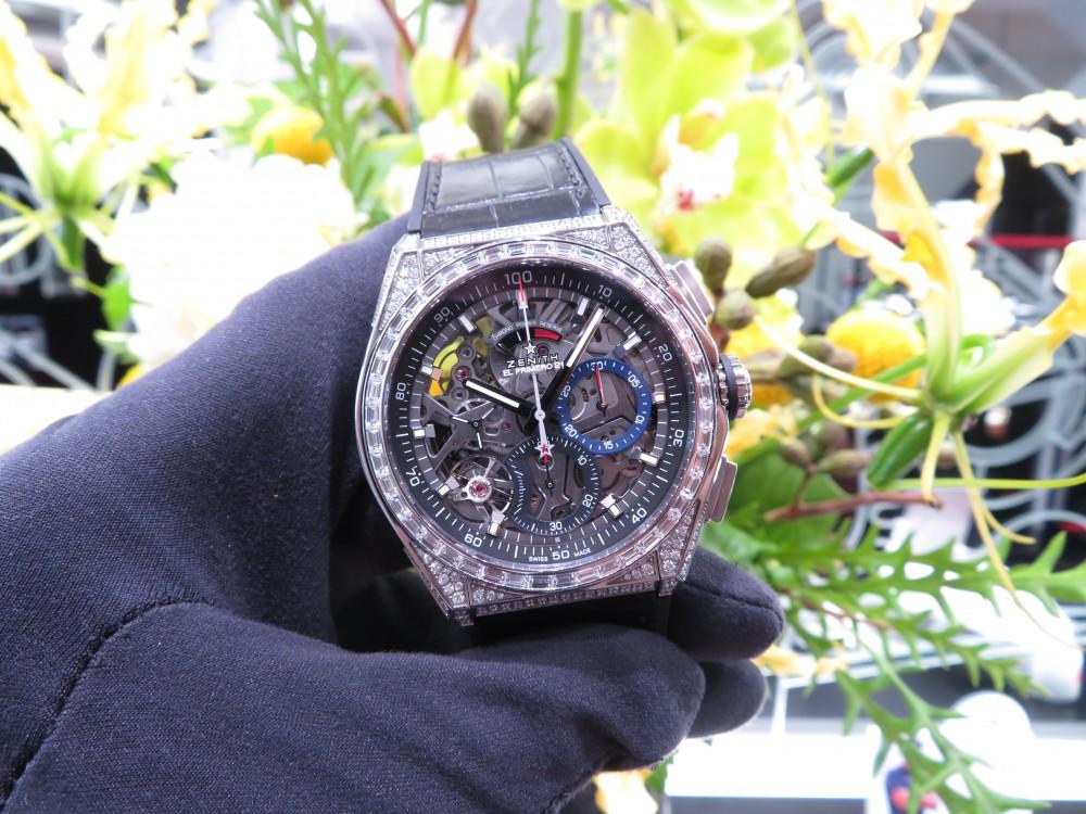 ゼニスブティック大阪に2018年新作スペシャルモデル『デファイ エル・プリメロ21 ダイヤモンド』が入荷致しました。 - DEFY |IMG_5085