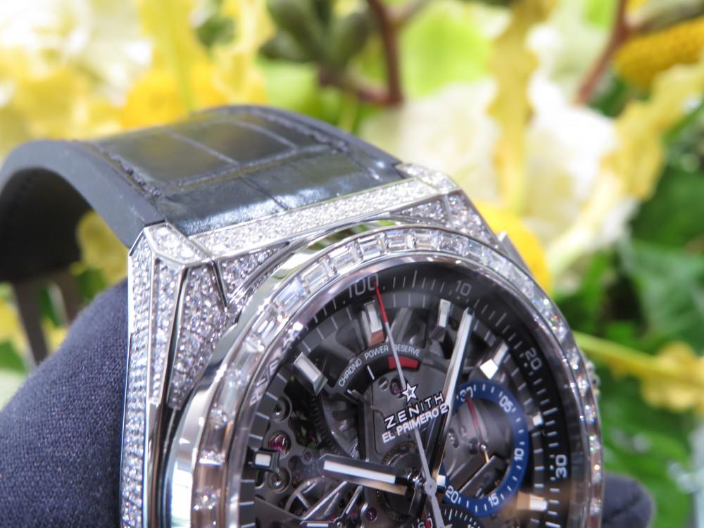 ゼニスブティック大阪に2018年新作スペシャルモデル『デファイ エル・プリメロ21 ダイヤモンド』が入荷致しました。 - DEFY |IMG_5093