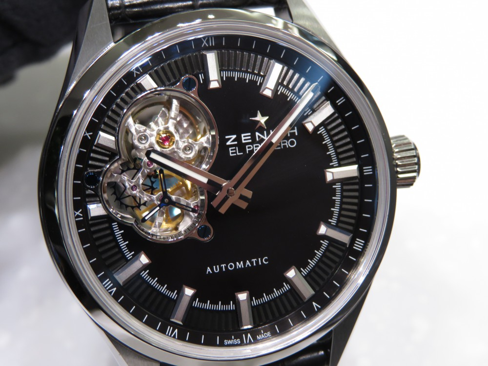 IMG_5105 エル・プリメロの美しさがより際立つ3針モデル!生産終了のエル・プリメロ シノプシス - CHRONOMASTER