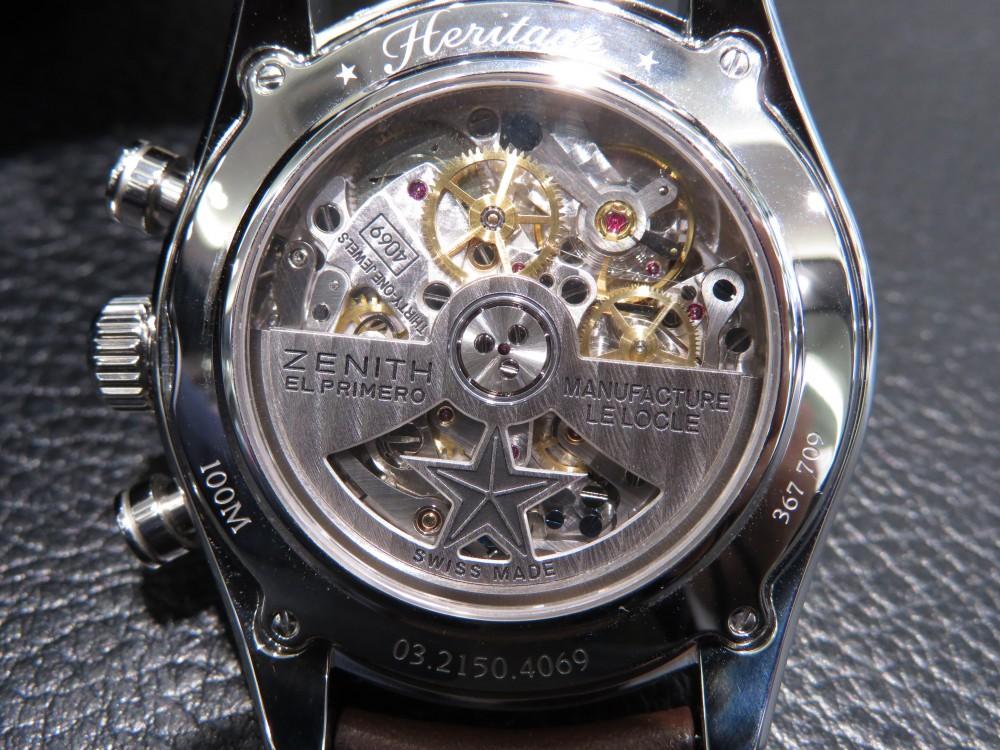 IMG_5424 1960年代のモデルよりインスピレーションを得たモデル、クロノマスター ヘリテージ146 - CHRONOMASTER