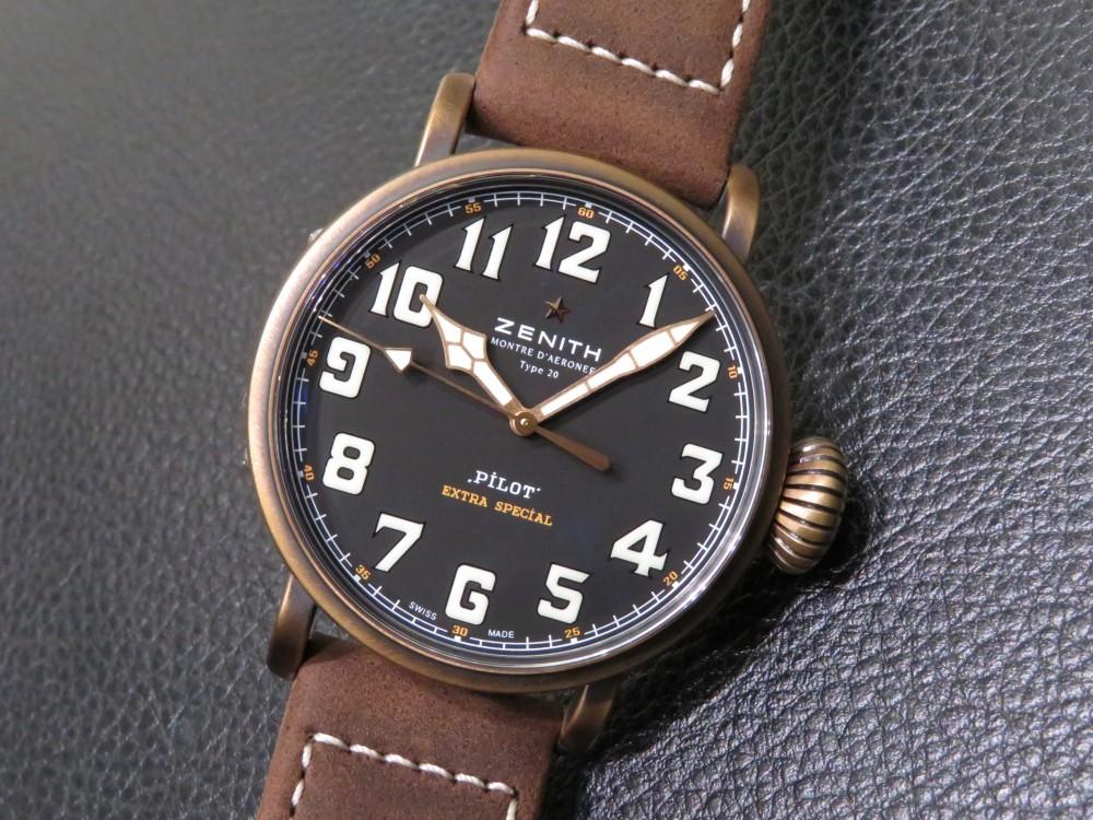 IMG_5634 味のあるオシャレ時計!パイロット タイプ20 エクストラ スペシャル - PILOT