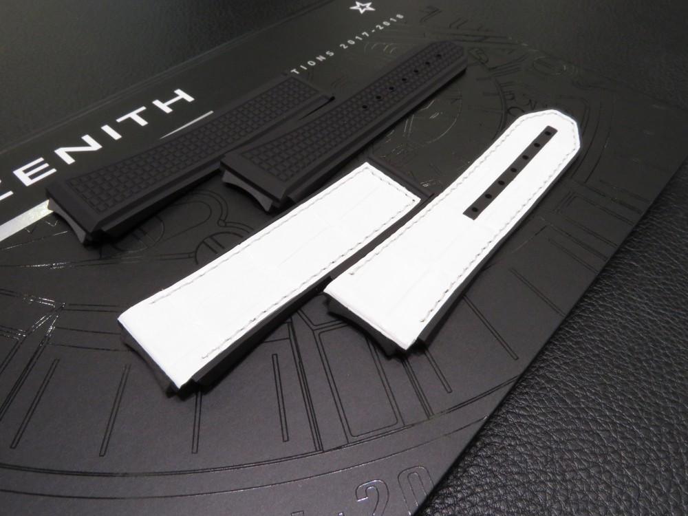IMG_5729 スケルトン文字盤の印象が強いですがこちらも人気です!デファイ エル・プリメロ21 文字盤モデル - DEFY
