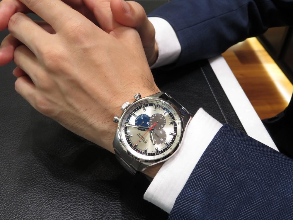 IMG_5876 珍しい生産終了モデル!エル・プリメロ 45㎜はゼニスブティック大阪で - CHRONOMASTER