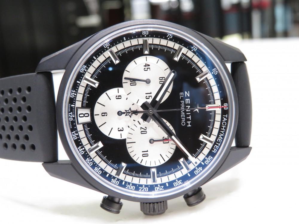 IMG_6015 ゼニスの最先端技術と歴史が詰まった精悍なブラックモデル!エル・プリメロ 42㎜ - CHRONOMASTER