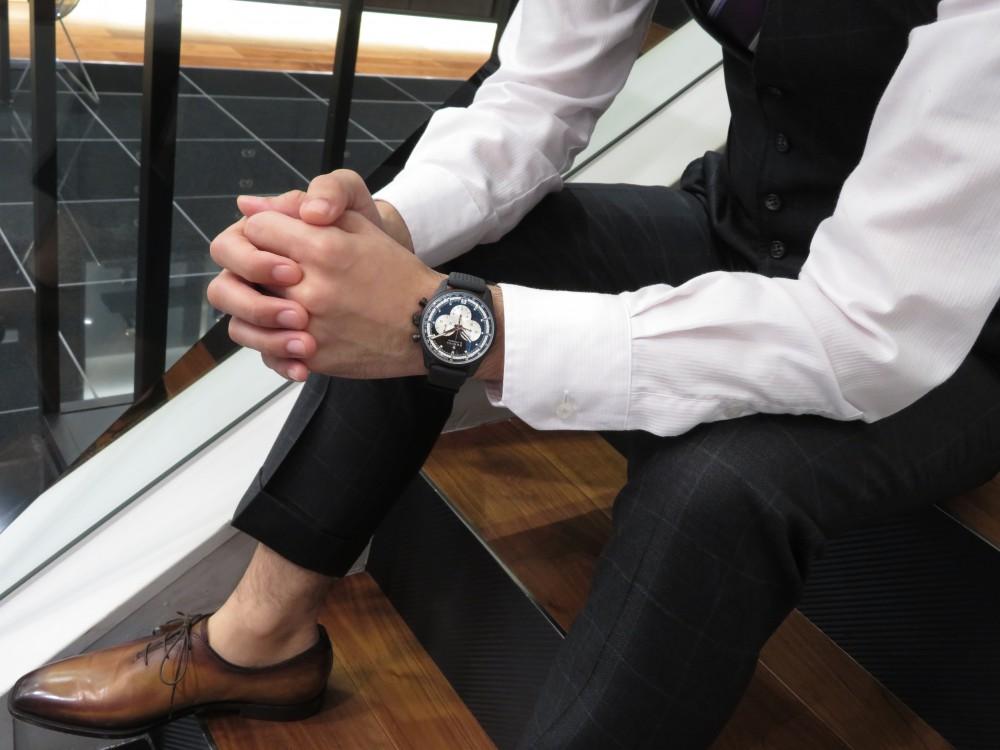IMG_6398 精悍さと気品が備わったオールブラックモデル!エル・プリメロ 42㎜はゼニスブティック大阪で♪ - CHRONOMASTER