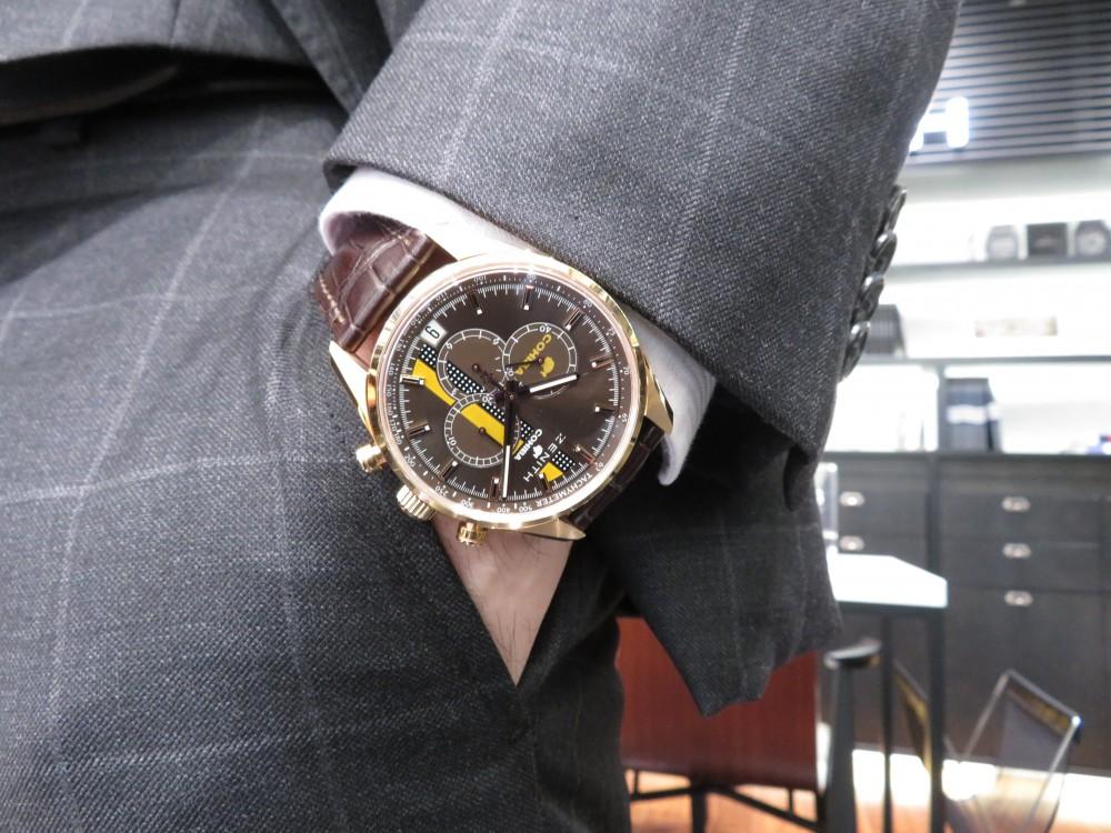 IMG_6582 落ち着きすぎない大人の時計!ゼニスとコイーバの特別コラボモデル! - CHRONOMASTER