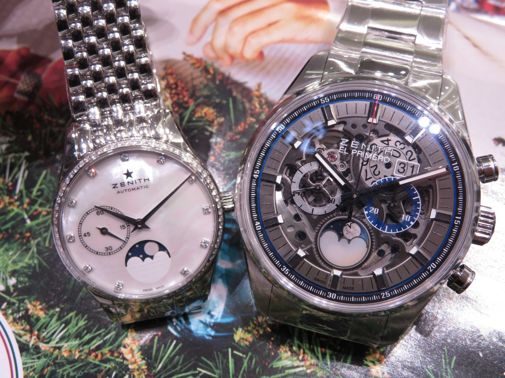 クリスマスプレゼントにZENITHのペアウォッチはいかがですか!? - CHRONOMASTER ELITE |IMG_6763
