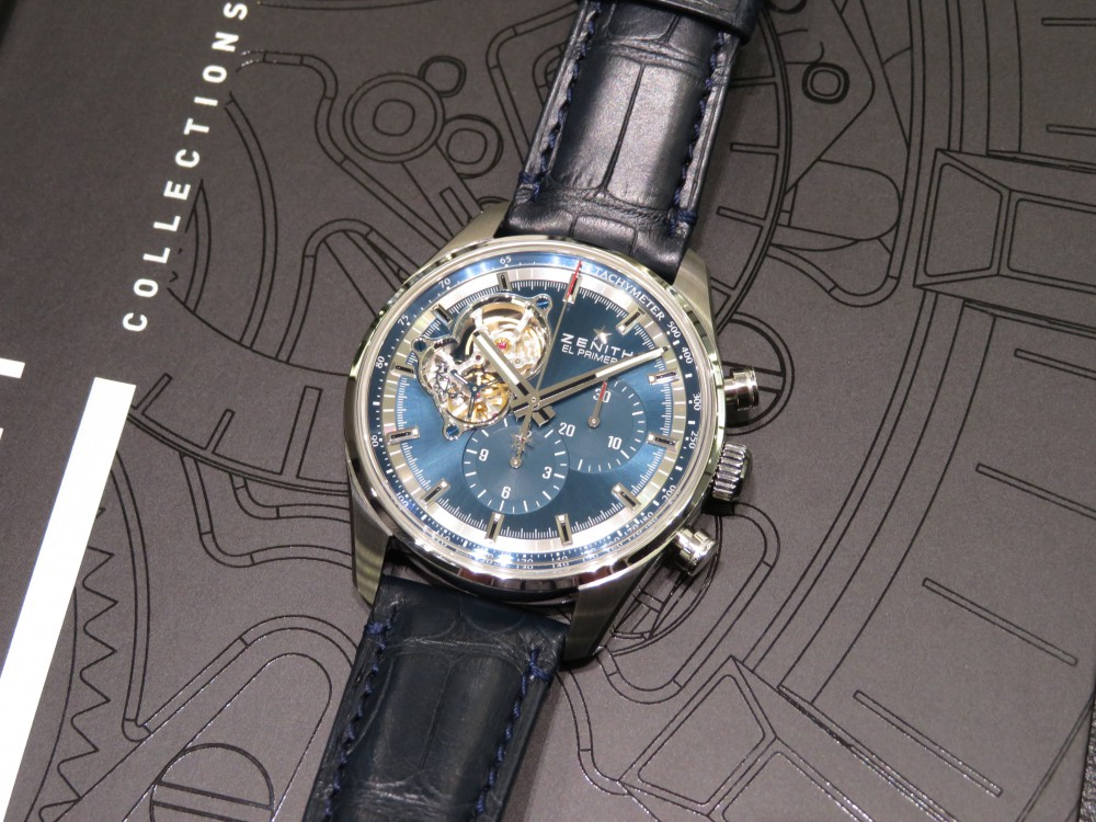 IMG_7336 お洒落にブルー文字盤を着けこなしたい!!クロノマスター エル・プリメロ オープン - CHRONOMASTER