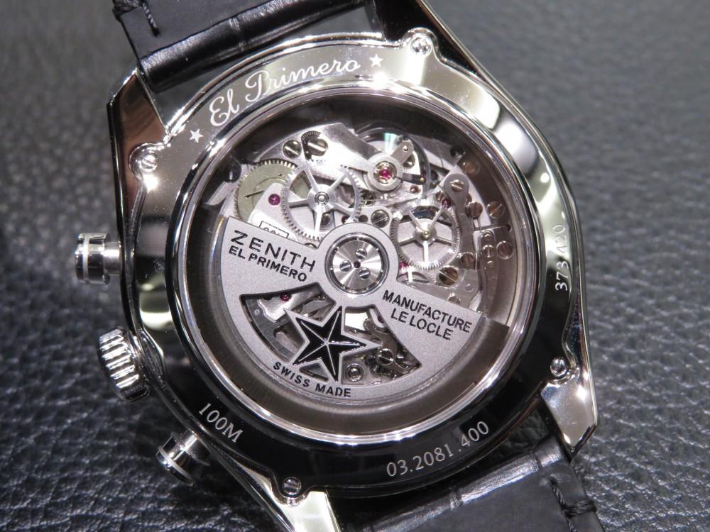 IMG_7555 ゼニスの伝統を受け継ぐモダンな雰囲気がカッコいいフルオープンモデル! - CHRONOMASTER