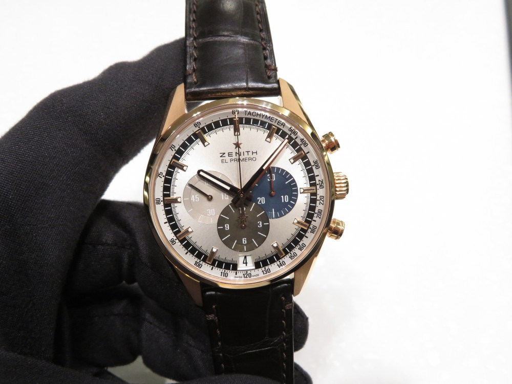 IMG_7688 大人の気品が漂うゴールドモデル。エル・プリメロ 42㎜ - CHRONOMASTER