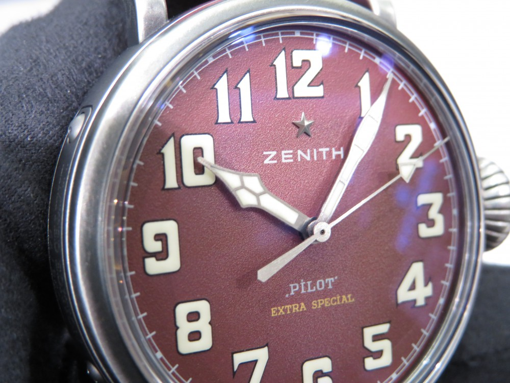 IMG_7826 赤色が特徴的なゼニス パイロットタイプ20 エクストラスペシャル! - PILOT