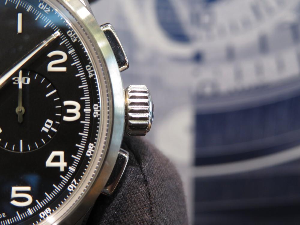 IMG_7904 6時位置にあるビッグデイトが特徴的なゼニスのパイロットウォッチ・ビッグデイトスペシャル! - PILOT