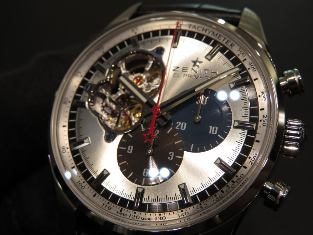 IMG_8013 ゼニスの1969ダイヤルは幅広く使えます。エル・プリメロ オープン - CHRONOMASTER