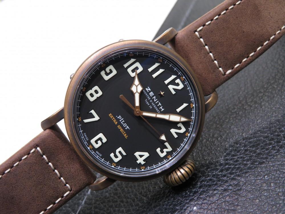 IMG_8083 ゼニスの航空時計の傑作を復刻。パイロット タイプ20 エクストラスペシャル - PILOT