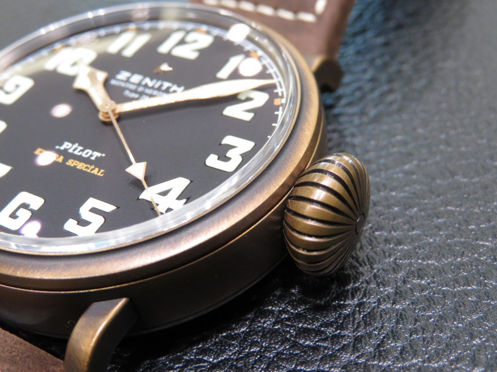 IMG_8085 ゼニスの航空時計の傑作を復刻。パイロット タイプ20 エクストラスペシャル - PILOT