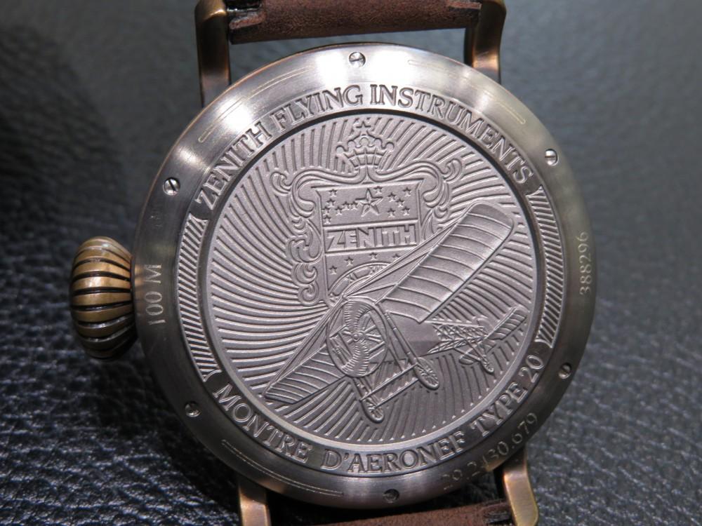 IMG_8087 ゼニスの航空時計の傑作を復刻。パイロット タイプ20 エクストラスペシャル - PILOT