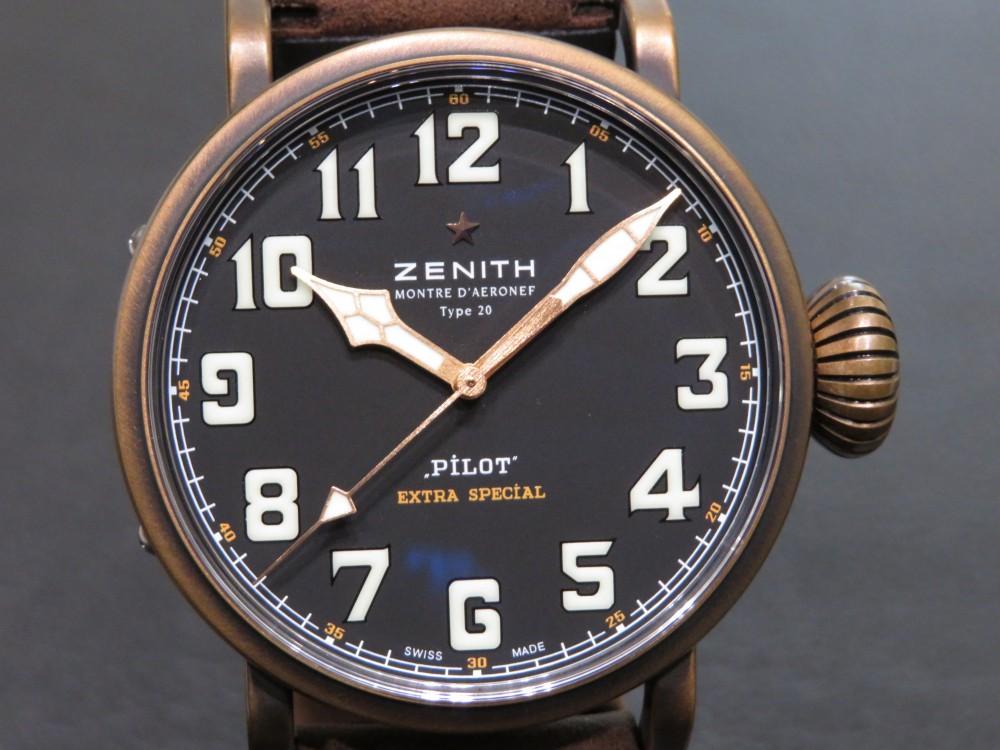 IMG_8089 ゼニスの航空時計の傑作を復刻。パイロット タイプ20 エクストラスペシャル - PILOT