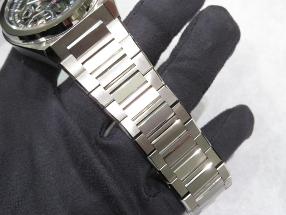 IMG_8093 ブレスレットモデルなのに軽量!デファイ エルプリメロ21チタンブレスレットモデル入荷。 - DEFY