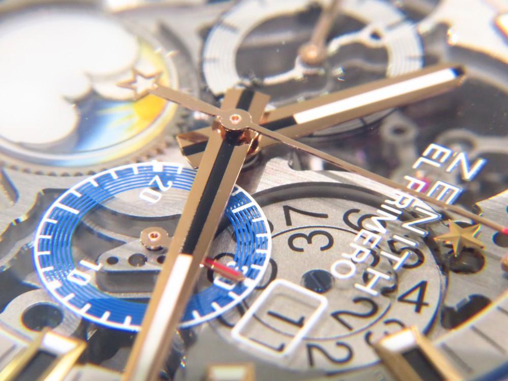 IMG_8154 ゼニスブティック大阪でも人気の高いグランドデイト フルオープンモデルが再入荷! - CHRONOMASTER