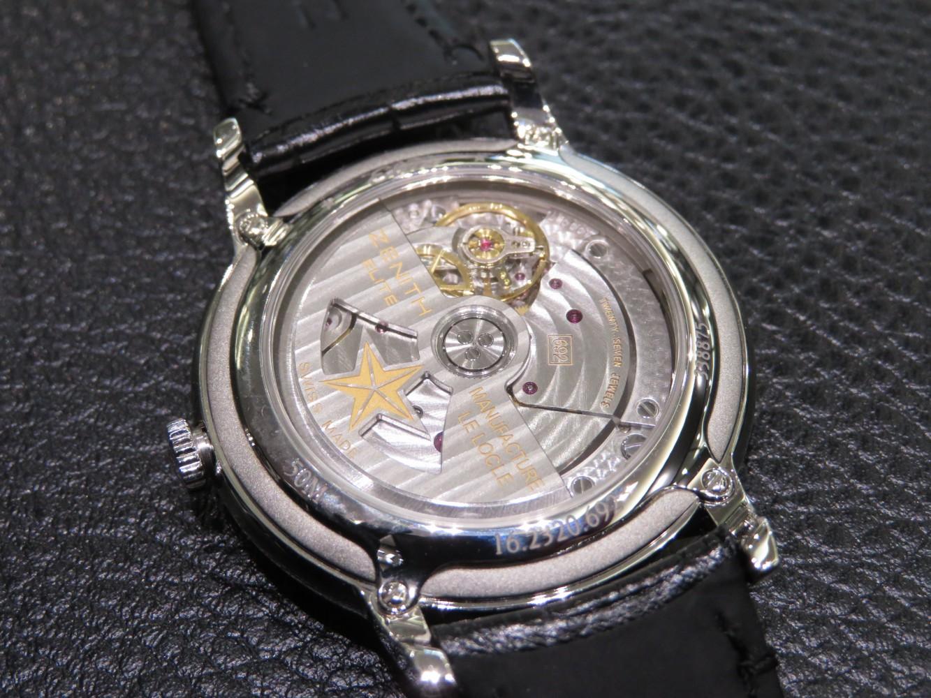 IMG_8214 綺麗なダイヤモンドが特徴的なゼニスレディースウォッチ エリートレディ。 - ELITE
