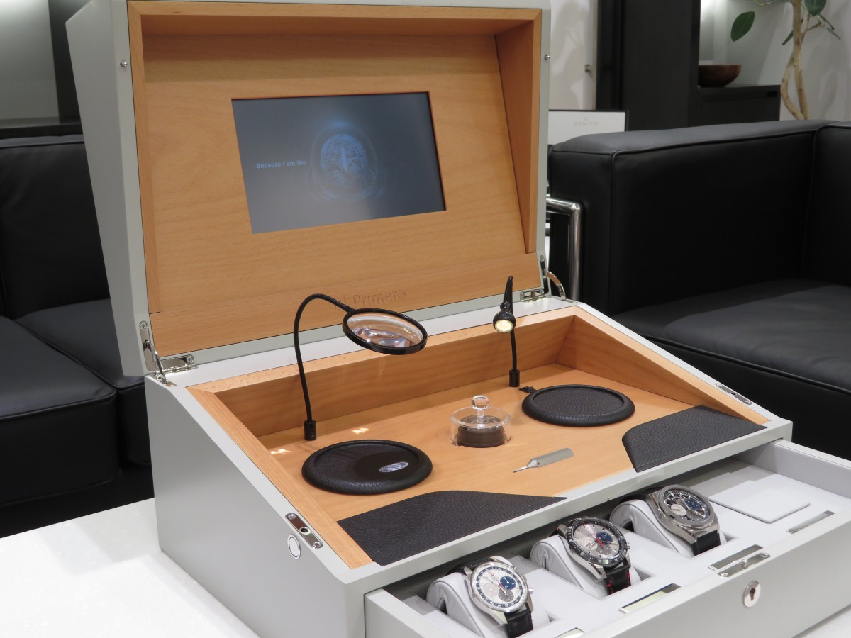 IMG_8294-2 エル・プリメロ50周年記念 世界50セット限定の特別ボックス! - CHRONOMASTER