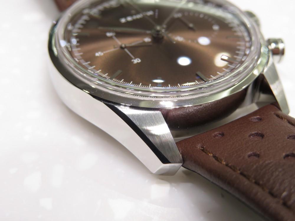 IMG_8565 1960年代のゼニスモデルの復刻「ヘリテージ146」トロピカルブラウンの文字盤が綺麗です。 - CHRONOMASTER