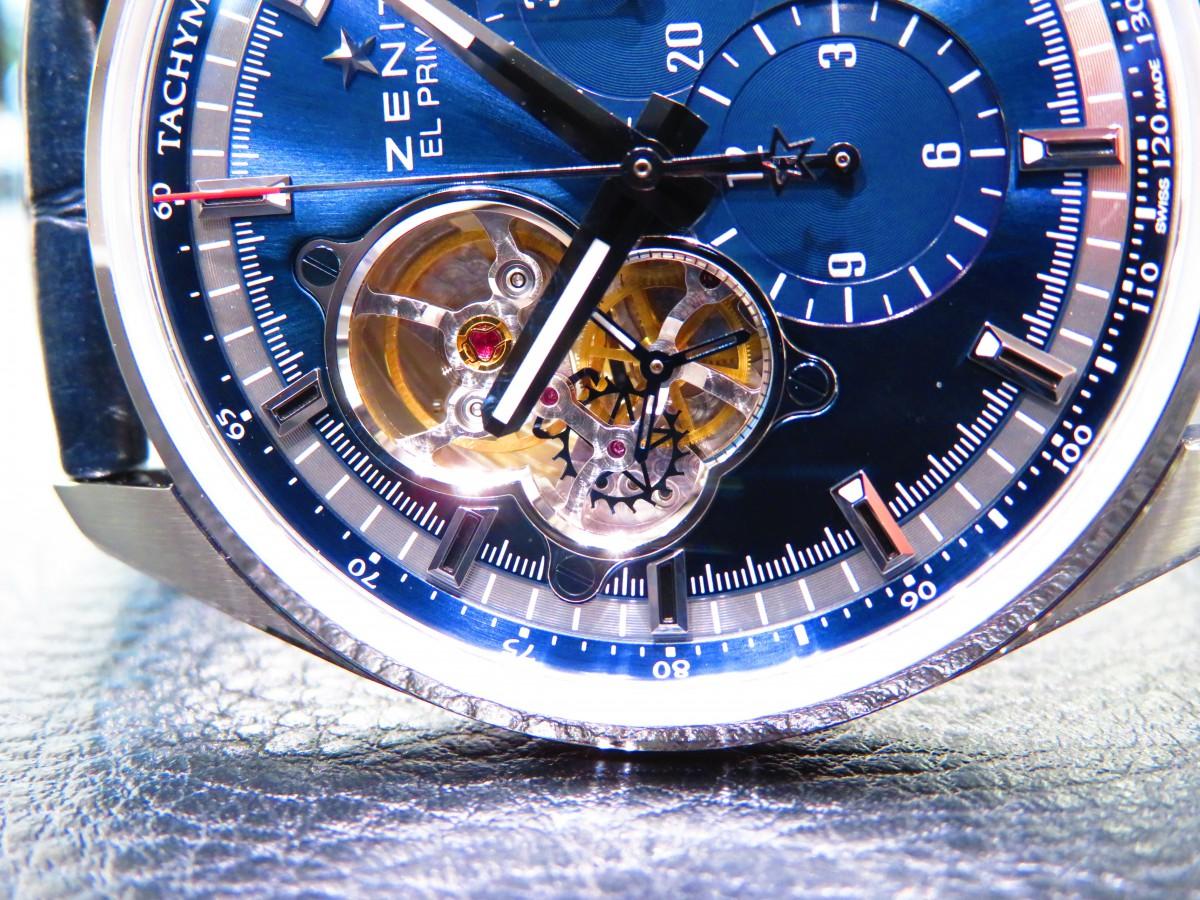 IMG_8650 夏には爽やかなブルーの文字盤のクロノマスターで涼やかに… - CHRONOMASTER