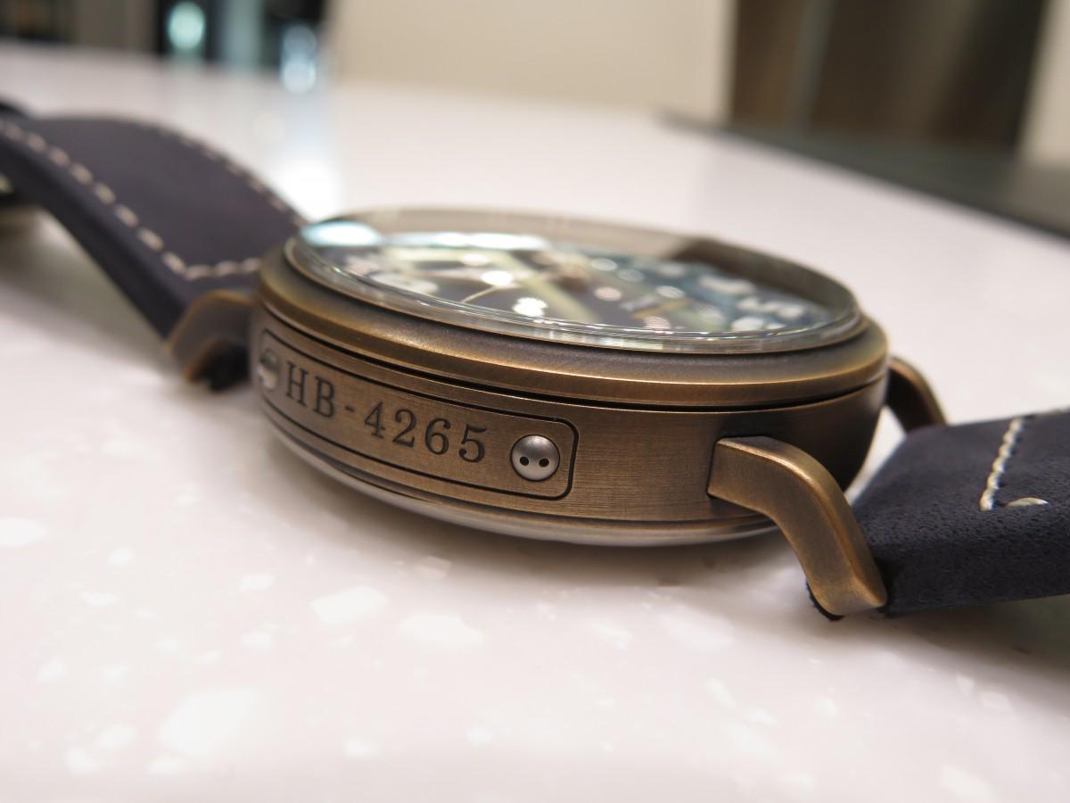 IMG_8664 ゼニス2019年新作「パイロット タイプ20」からカッコ良いブルーの3針モデルが登場!! - PILOT