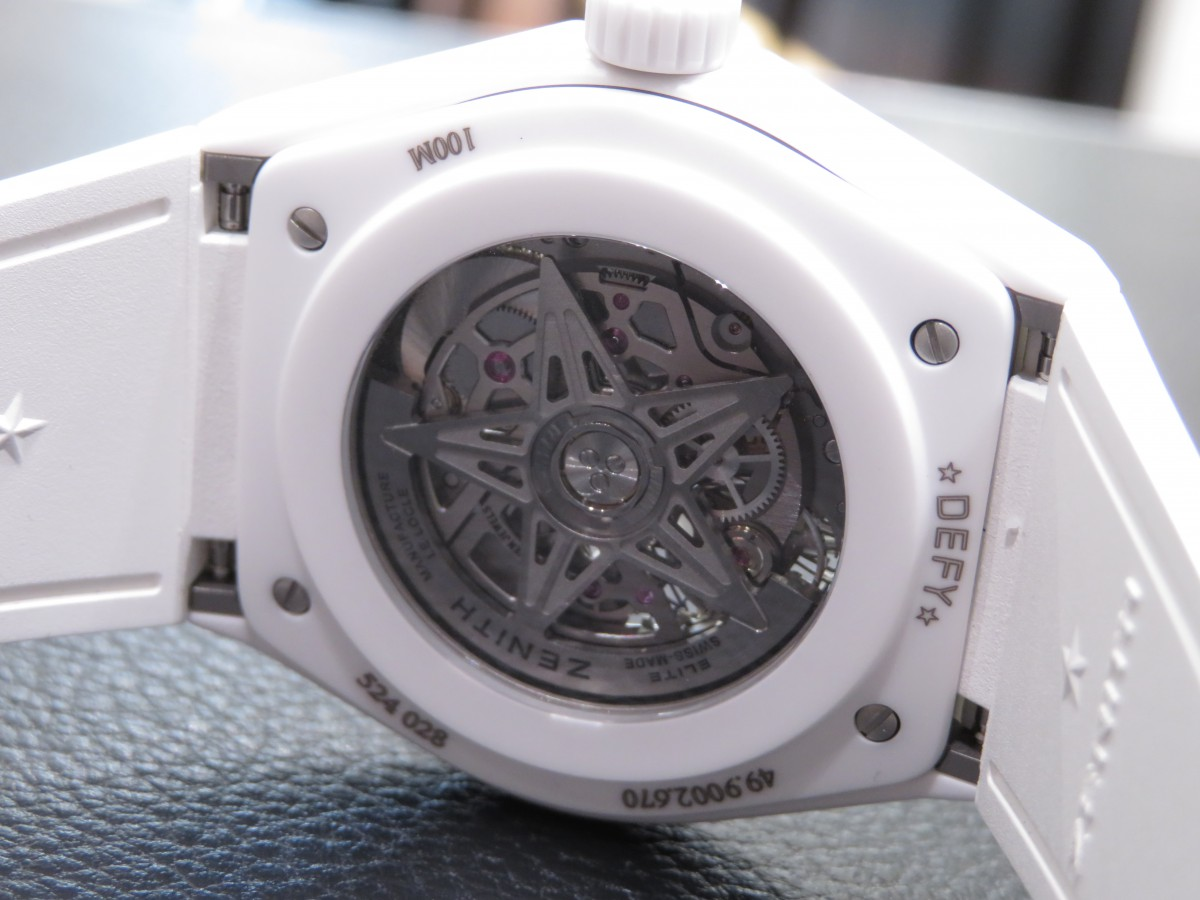 IMG_8952 デファイ クラシックのホワイトセラミックモデルが初入荷!夏に向けて爽やかな時計はいかがですか!? - DEFY