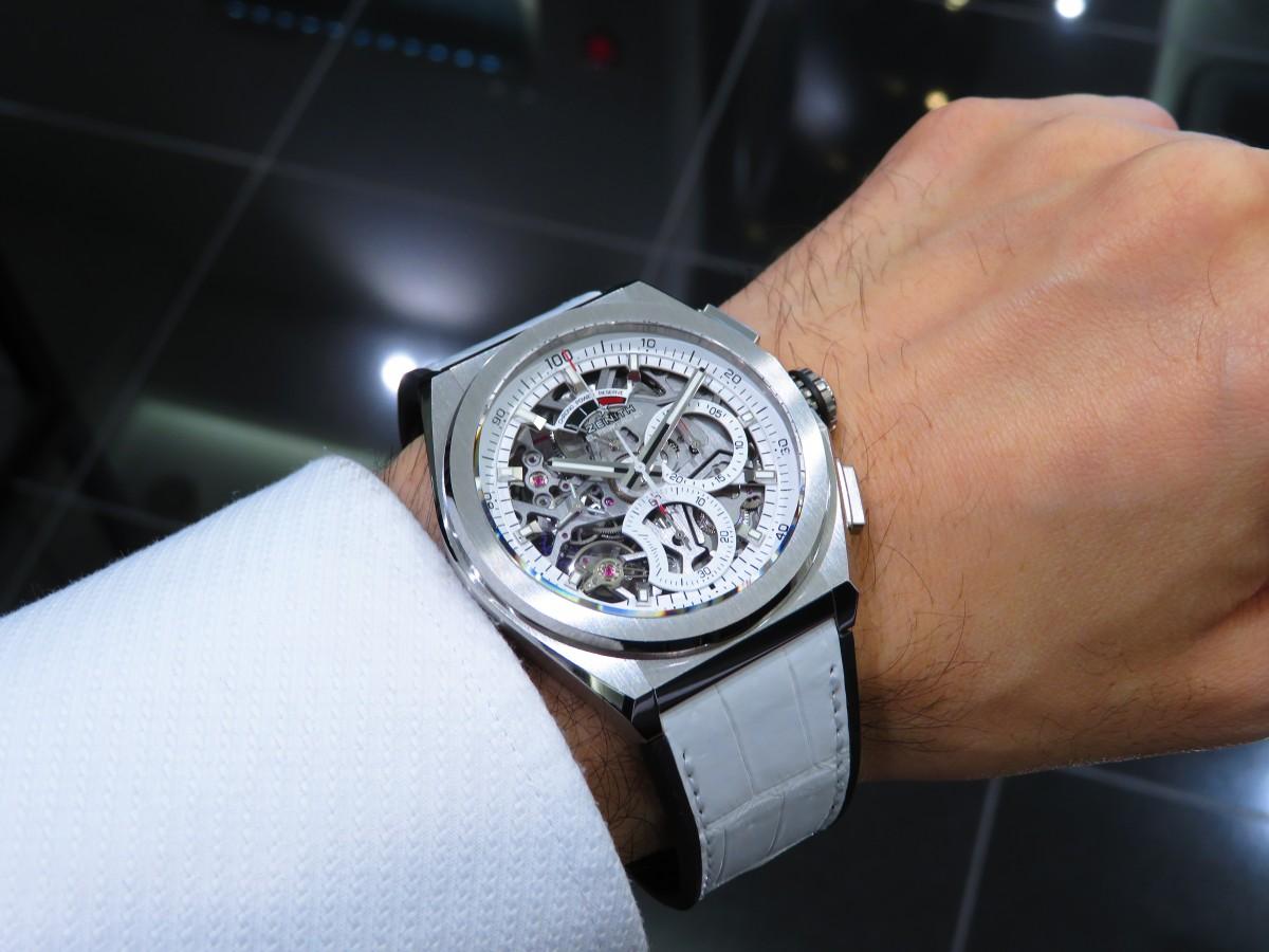 IMG_9013 爽やかなホワイトカラーが特徴のデファイエルプリメロ21日本限定モデル - DEFY