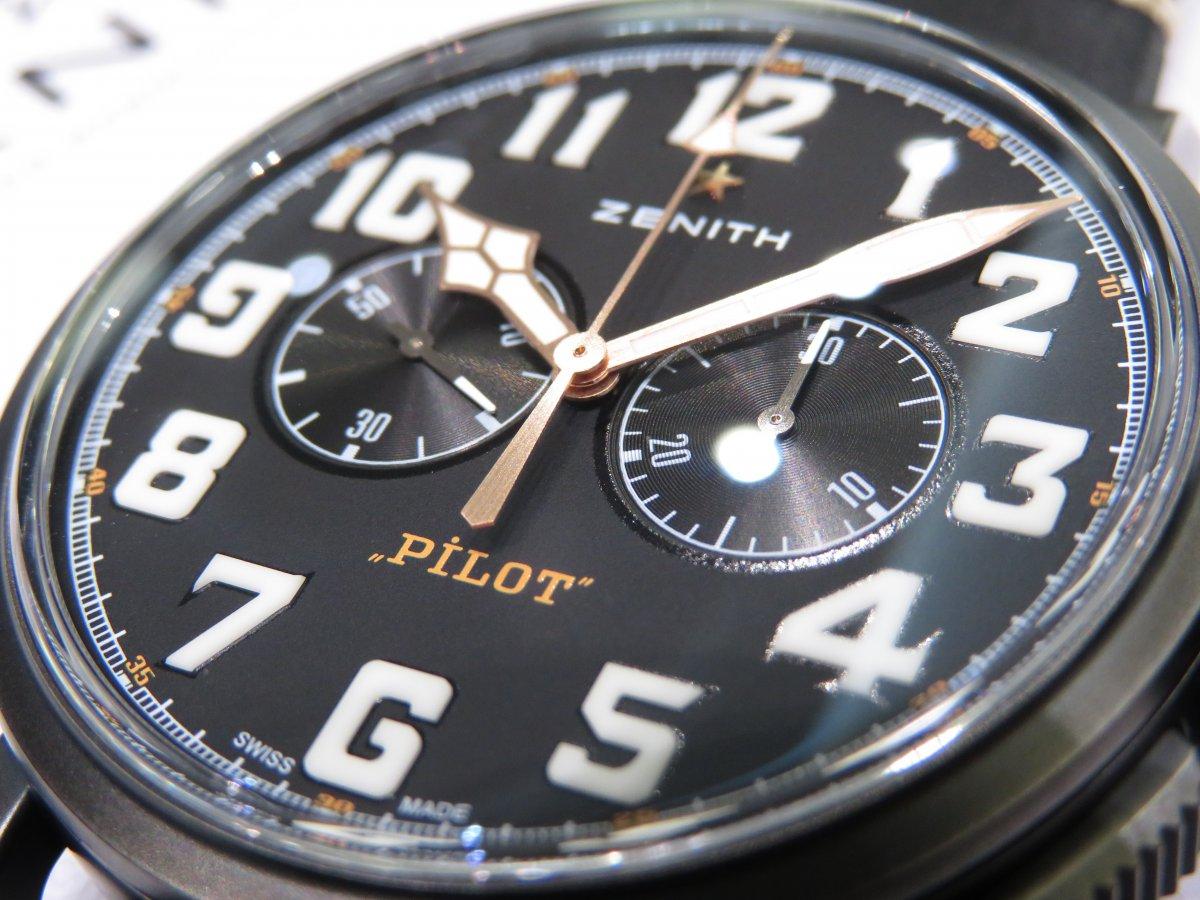 IMG_9216 オートバイ文化に着想を得たおしゃれなパイロットウォッチ!パイロット タイプ20 TON-UP - PILOT