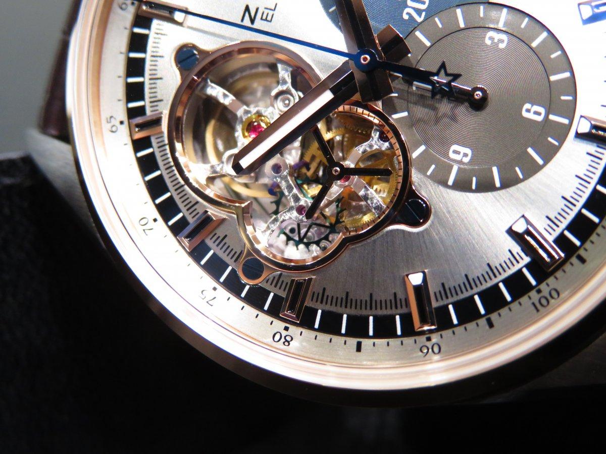 IMG_9307 ベゼルにローズゴールドをあしらった華やかさと実用性を兼ね備えた「エル・プリメロ オープン」 - CHRONOMASTER