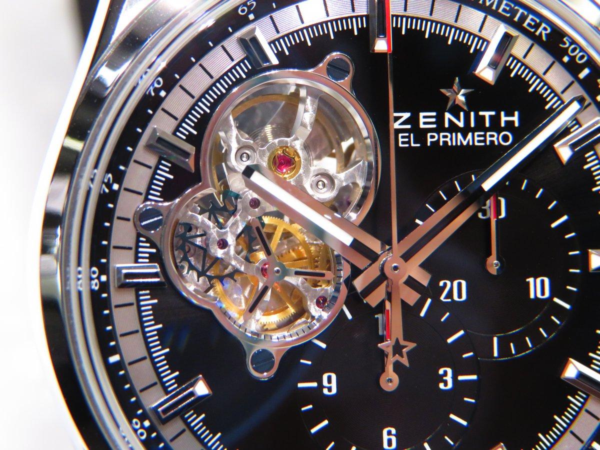 IMG_9360 ゼニスが誇るエル・プリメロを装着していながら楽しめる贅沢なオープンモデル! - CHRONOMASTER