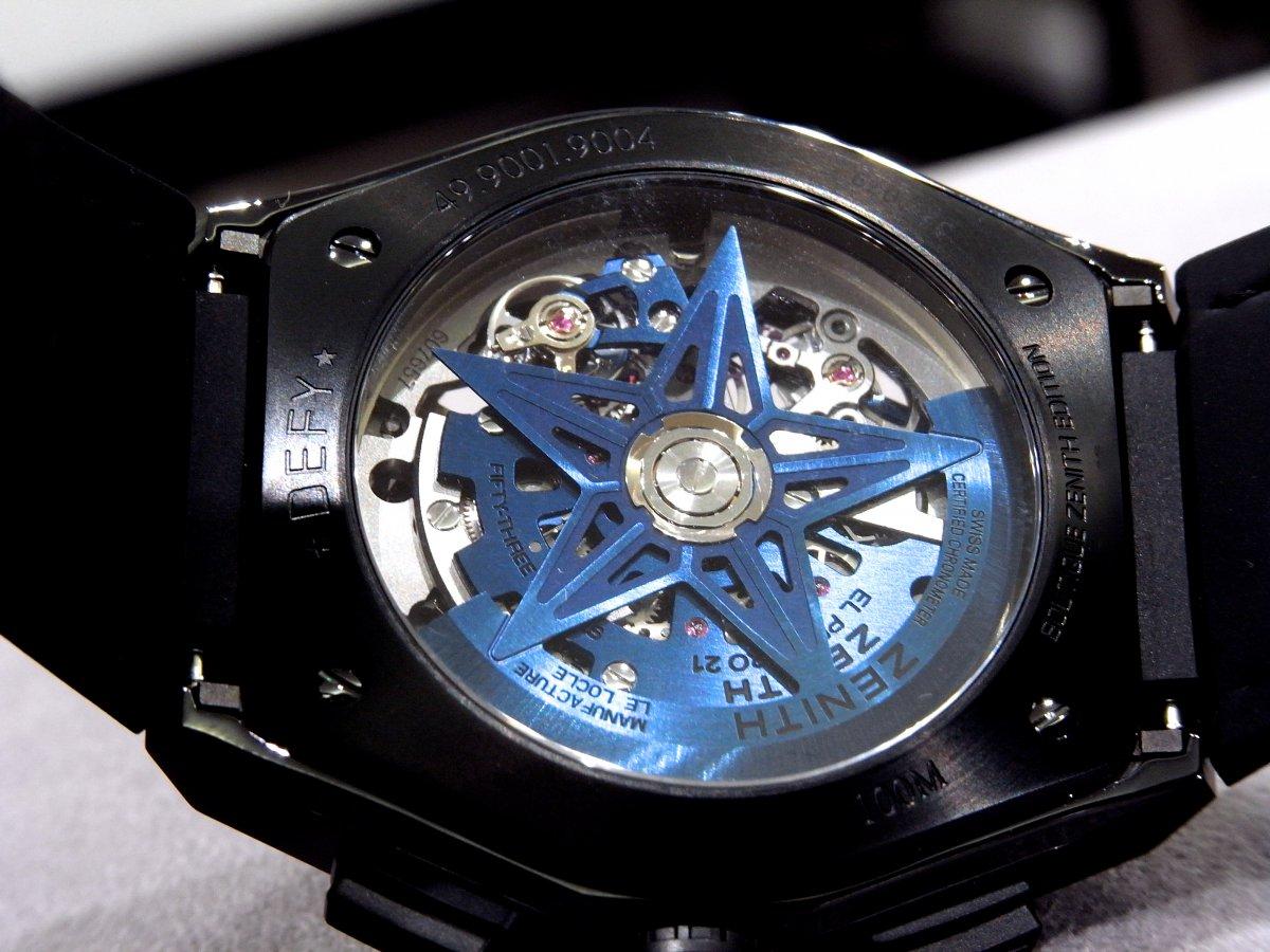 R1171328 夏は腕元にインパクトを。全世界250本ブティック限定のデファイ エル・プリメロ21 - DEFY