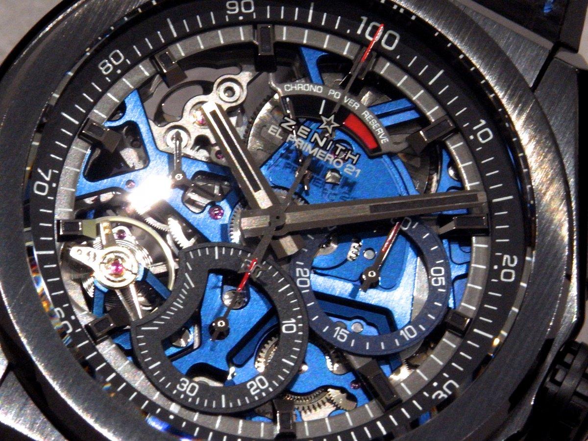 R1171334 夏は腕元にインパクトを。全世界250本ブティック限定のデファイ エル・プリメロ21 - DEFY