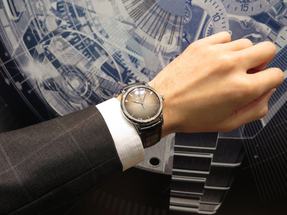 IMG_7438 エリート クラシックはビジネスやフォーマルシーンで使える大人の腕時計!ゼニスブティック大阪でご覧ください! - ELITE
