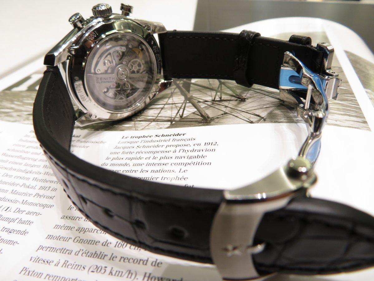 IMG_9418 エル・プリメロのもう一つの顔、フルオープンでファッション性も抜群の高性能時計フルオープンモデル。 - CHRONOMASTER