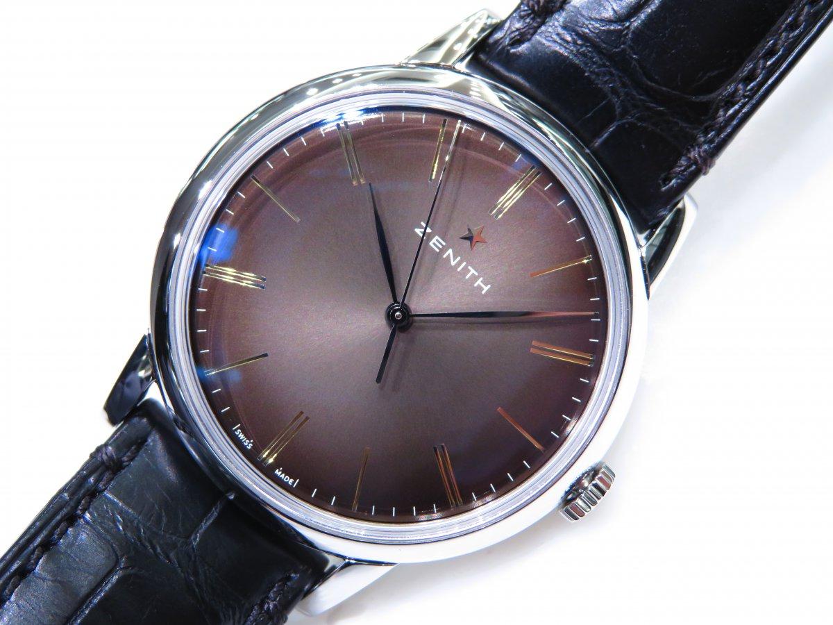 IMG_9619 エリート クラシックはビジネスやフォーマルシーンで使える大人の腕時計!ゼニスブティック大阪でご覧ください! - ELITE