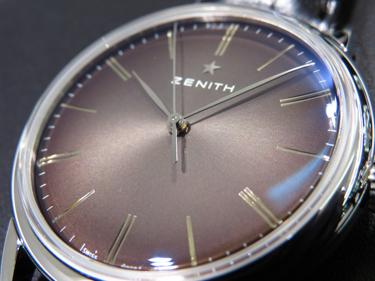 IMG_9623 エリート クラシックはビジネスやフォーマルシーンで使える大人の腕時計!ゼニスブティック大阪でご覧ください! - ELITE