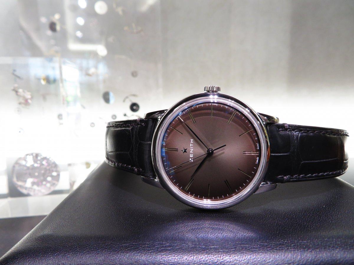 IMG_9627 エリート クラシックはビジネスやフォーマルシーンで使える大人の腕時計!ゼニスブティック大阪でご覧ください! - ELITE