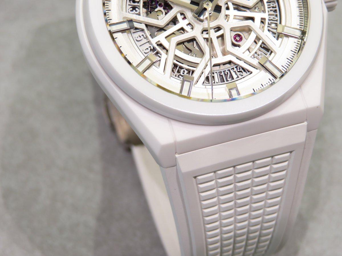 IMG_9652 夏にピッタリなホワイトセラミック素材のカッコ良いモデル!デファイクラシック - DEFY