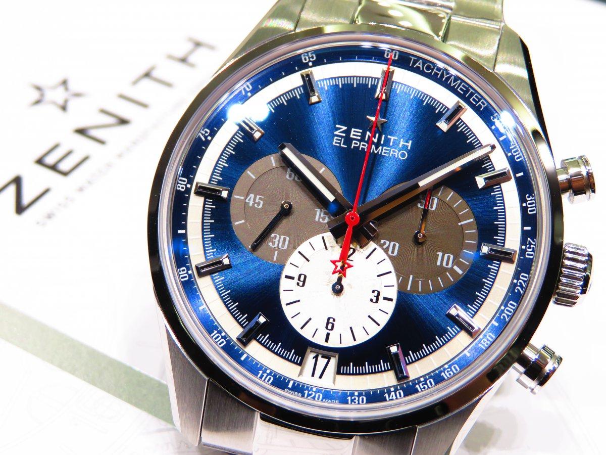 IMG_9705 ゼニスを象徴するデザイン。ブルーが美しいエル・プリメロ 42mm。 - CHRONOMASTER
