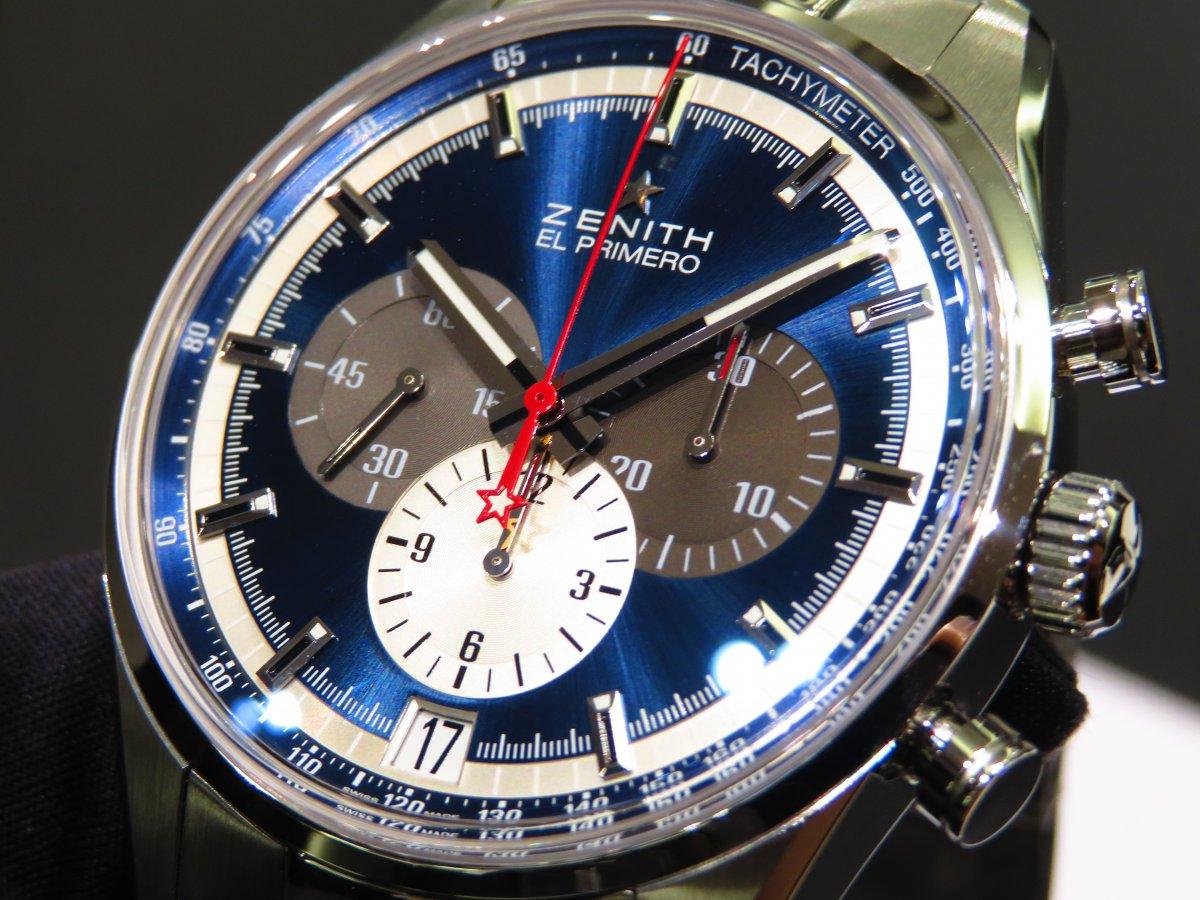 IMG_9707 ゼニスを象徴するデザイン。ブルーが美しいエル・プリメロ 42mm。 - CHRONOMASTER