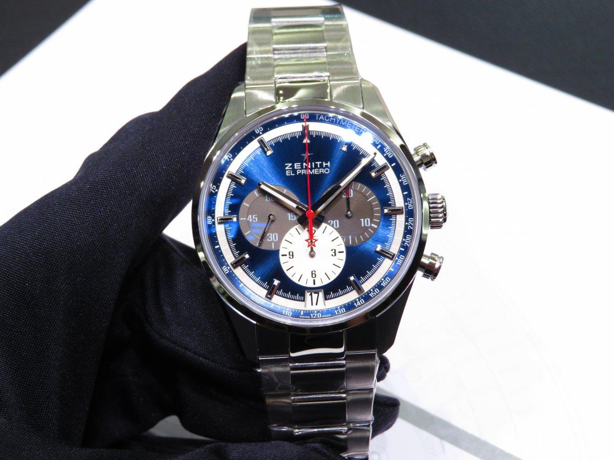 IMG_9708 ゼニスを象徴するデザイン。ブルーが美しいエル・プリメロ 42mm。 - CHRONOMASTER