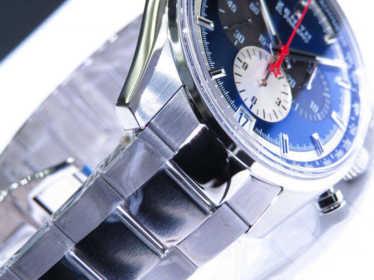 IMG_9710 ゼニスを象徴するデザイン。ブルーが美しいエル・プリメロ 42mm。 - CHRONOMASTER