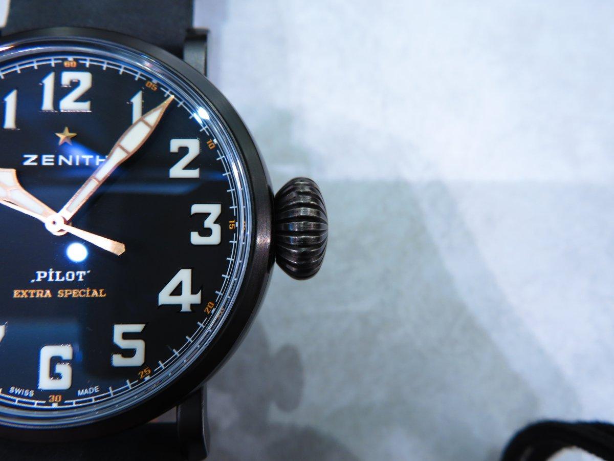 IMG_9977 やっぱり大きい時計は存在感があり男らしいカッコ良さがありますね! - PILOT