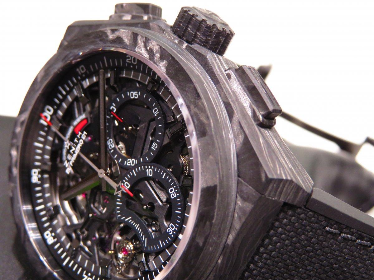 IMG_0057 男らしさを極めた時計?カーボンを身に纏った「デファイ エル・プリメロ21」 - DEFY