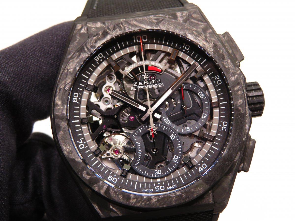 IMG_0058 男らしさを極めた時計?カーボンを身に纏った「デファイ エル・プリメロ21」 - DEFY
